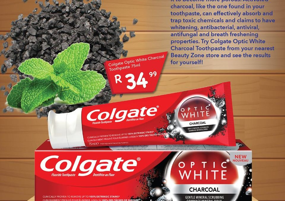 Activated Charcoal Colgate Toothpaste Beauty Zone